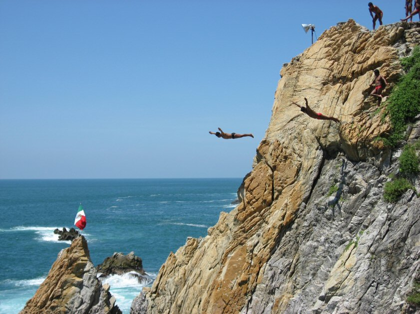 Asep Show Blog Ohox: Cliff Divers City Tour With